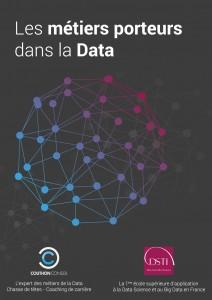Guide des métiers porteurs dans la Data - Page de couverture - Couthon Conseil - Recrutement Data et Digital
