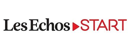 Logo Les Echos START - Couthon Conseil - Recrutement Big Data Science et Digital