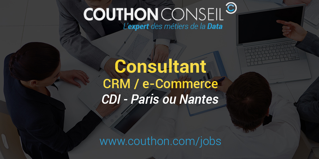 consultant crm    e-commerce  paris ou nantes