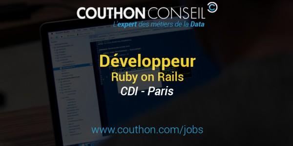 Développeur Ruby on Rails [Paris]