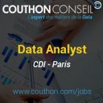 Data Analyst [Paris]