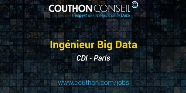 Ingénieur Big Data [Paris]
