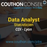 Data Analyst – Statisticien [Lyon]