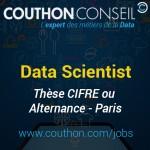 Alternance / Thèse CIFRE Data Scientist (ML / NLP) [Paris]