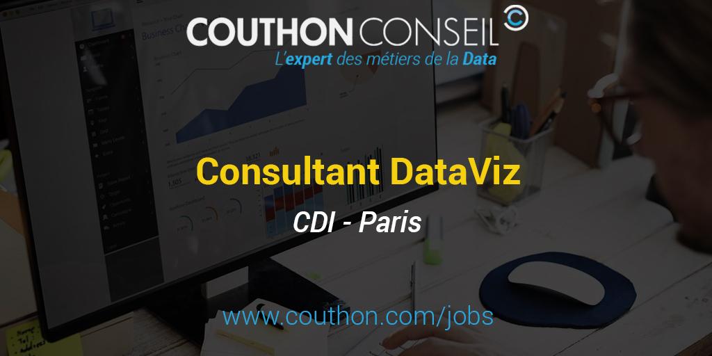 consultant dataviz tableau  paris