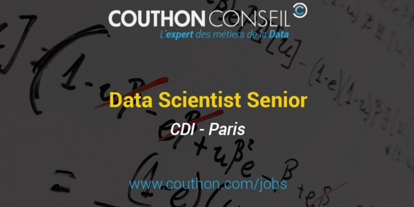 Data Scientist Senior [Paris]