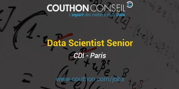Data Scientist Senior [Paris]