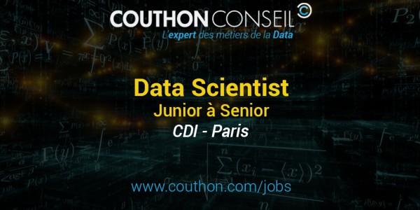Data Scientist Junior à Senior [Paris]