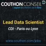Lead Data Scientist [Paris ou Lyon]