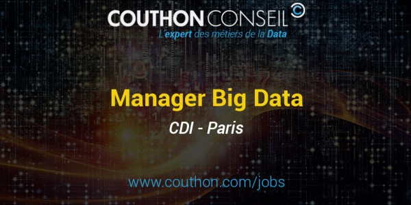 Manager Big Data [Paris]