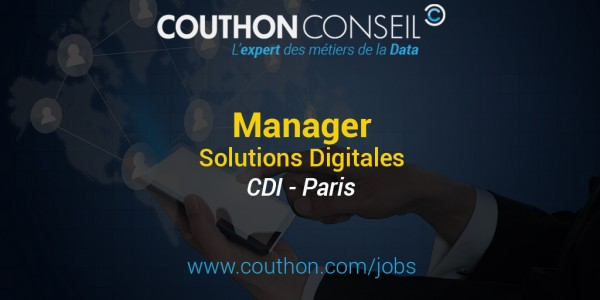 Manager Solutions Digitales [Paris]