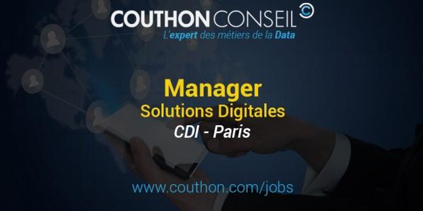 Manager Solutions Digitales [Paris]