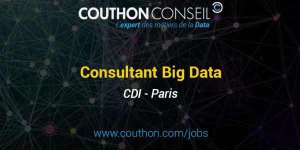 Consultant Big Data [Paris]