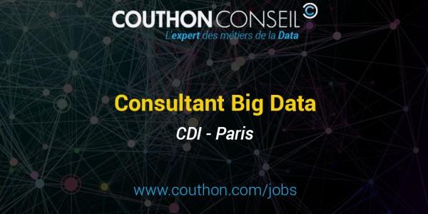 Consultant Big Data [Paris]