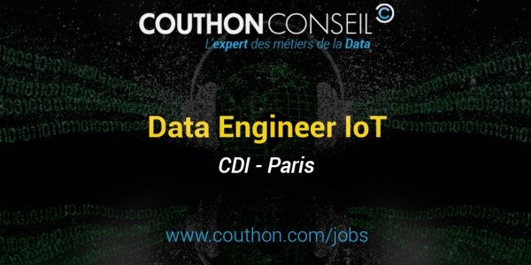 Data Engineer confirmé IoT [Paris]