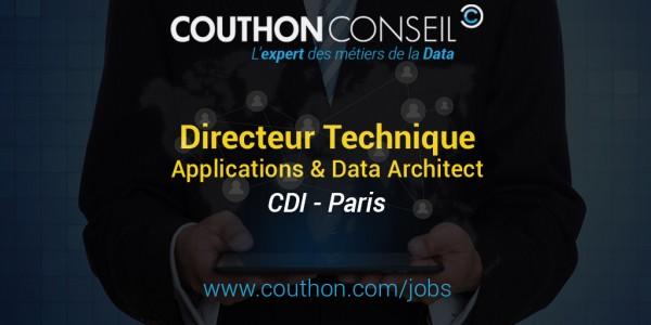 Directeur Technique International – Applications & Data Architect [Paris]