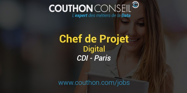 Chef de Projet Digital [Paris]