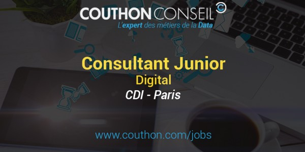 Consultant Junior Digital [Paris]