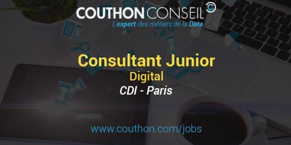 Consultant Junior Digital [Paris]