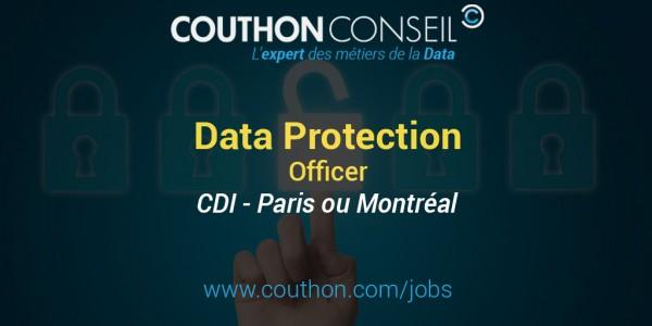 Data Protection Officer [Paris ou Montréal]