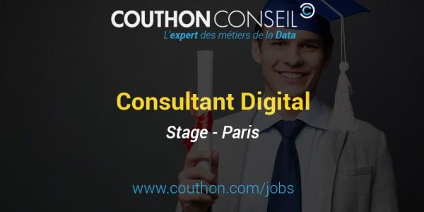 Stage Consultant Digital [Paris]