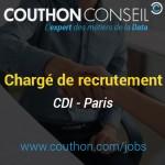 Chargé de Recrutement [CDI – Paris]