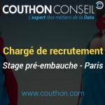 Chargé de recrutement [Stage – Paris]