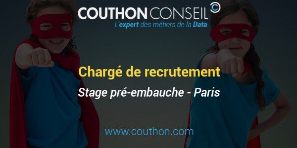 Chargé de recrutement [Stage – Paris]