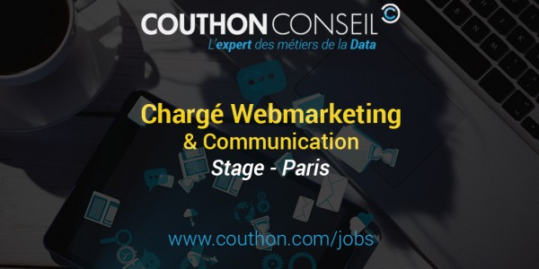 Chargé de Webmarketing & Communication [Stage – Paris]