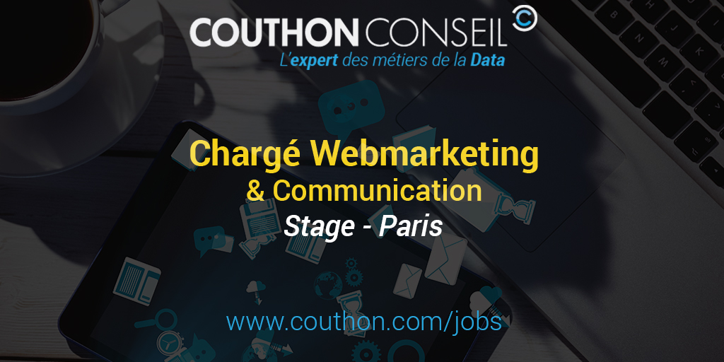 charg u00e9 de webmarketing  u0026 communication  stage - paris