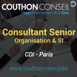 Consultant Senior Organisation & SI [Paris]
