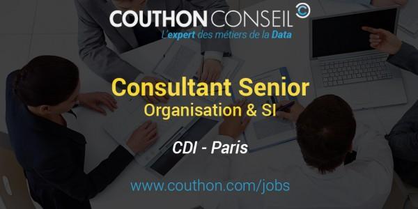 Consultant Senior Organisation & SI [Paris]