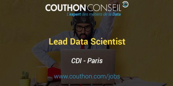Lead Data Scientist [Paris]
