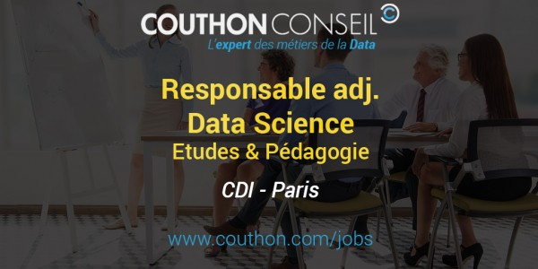 Responsable adj. Etudes et Pédagogie Data Science [Paris]