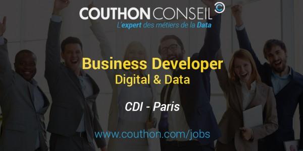 Business Developer Digital Data [Paris]