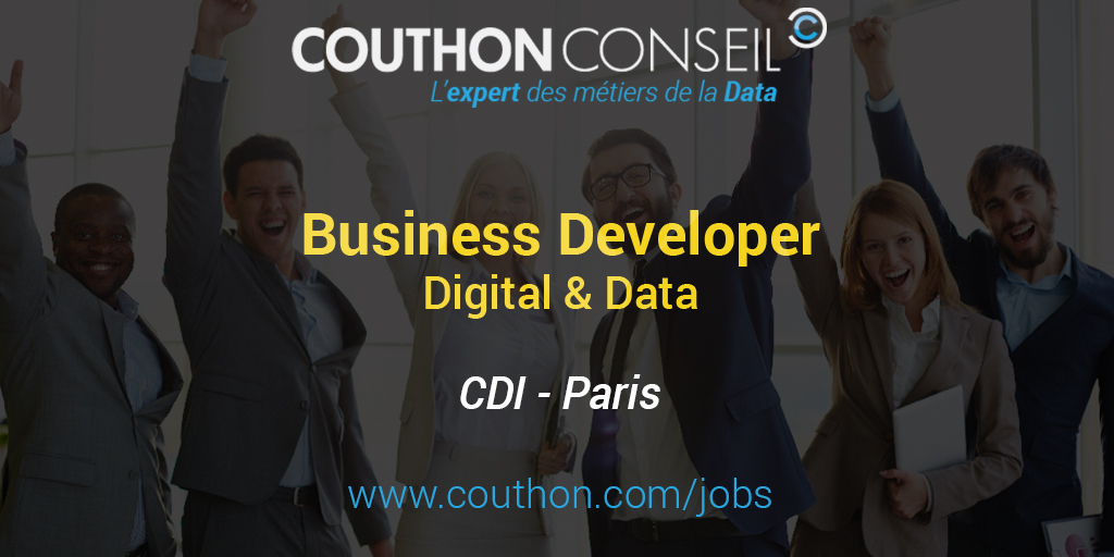 business developer digital data  paris