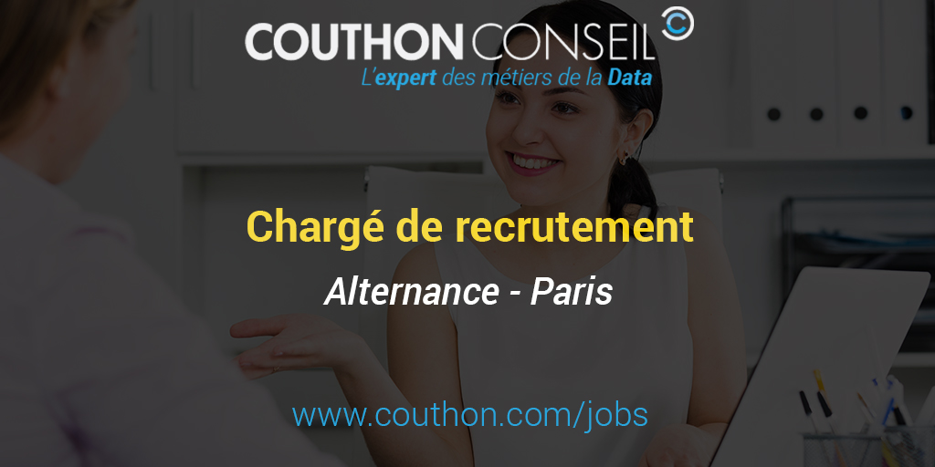 charg u00e9 de recrutement  alternance - paris