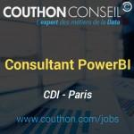 Consultant DataViz PowerBI [Paris]