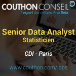 Senior Data Analyst – Statisticien [Paris]